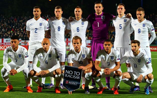 Кэйн, Уокер, Алли и Таунсенд сыграли за сборную Англии