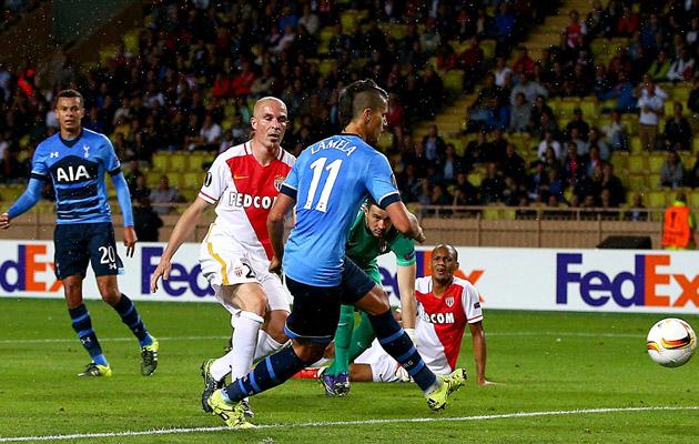 Эрик Ламела забил единственный гол Тоттенхэма в выездном матче с Монако
