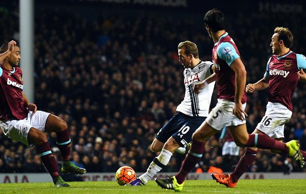 """Дубль Харри Кэйна в ворота """"Вест Хэма"""" ознаменовал уже пятый матч Шпор кряду, в котором он забивает гол."""