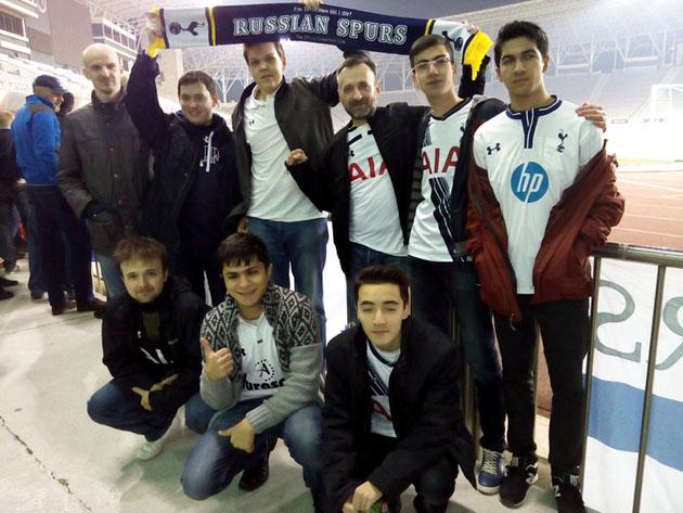 Russian Spurs - выезд в Баку (Карабах - Тоттенхэм)