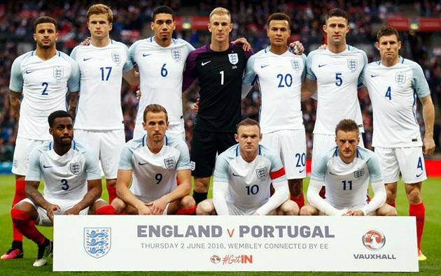 Пятёрка  английских Шпор готова к Евро-2016