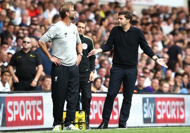 Клопп и Почеттино Тоттенхэм Хотспур - Ливерпуль 1:1 (3-й тур АПЛ 2016/17)