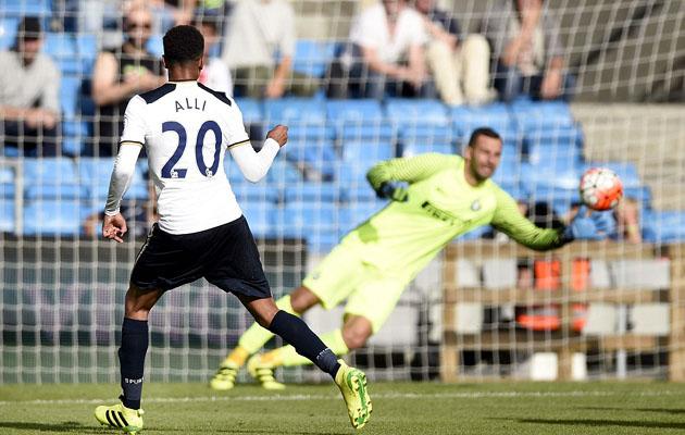 Деле Алли в матче Интер - Тоттенхэм  (1:6) отметился забитым голом