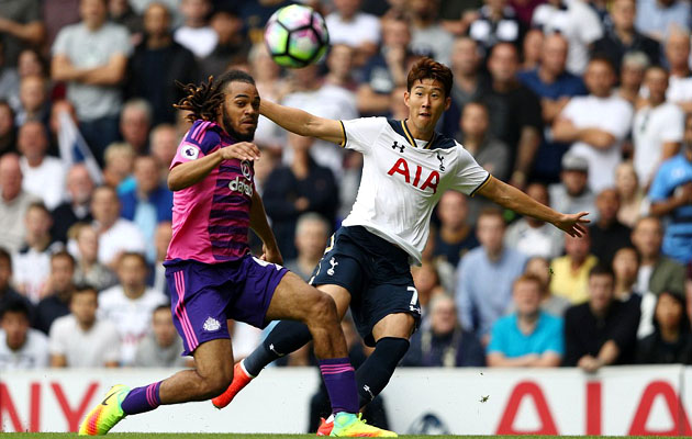 Сон Хын Мин провёл матч с Сандерлендом очень активно, на забить так и не смог