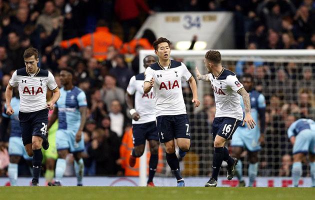 Сон Хын Мин забил первый и последний голы в ворота Уикома
