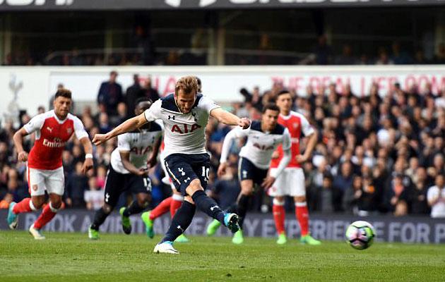 Харри Кэйн забил победный мяч в ворота Вулвич Арсенал