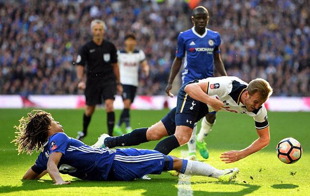 Челси - Тоттенхэм Хотспур 4:2 (Кубок Англии 2016/17)