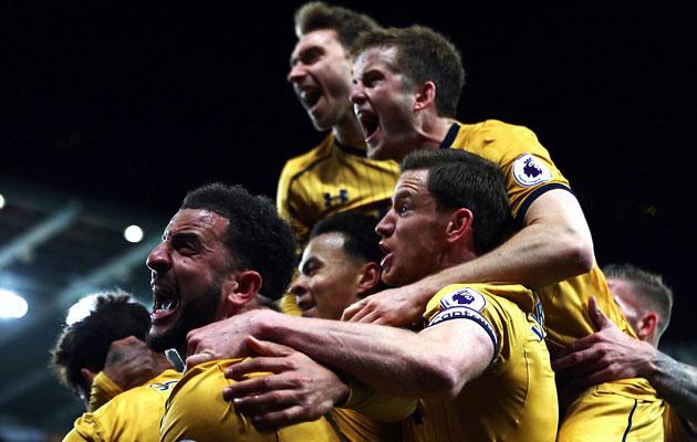 Суонси Сити - Тоттенхэм Хотспур 1:3 (Английская Премьер Лига 2016/17)
