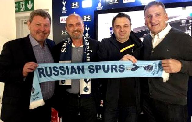 Клайв Аллен, Марк Фалко и Russian Spurs