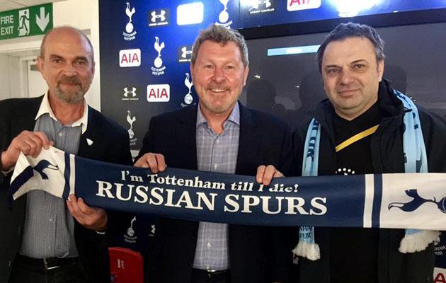Клайв Аллен и Russian Spurs