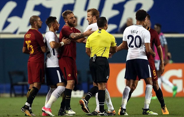 Тоттенхэм Хотспур - Рома 2:3 (International Champions Cup 2017)