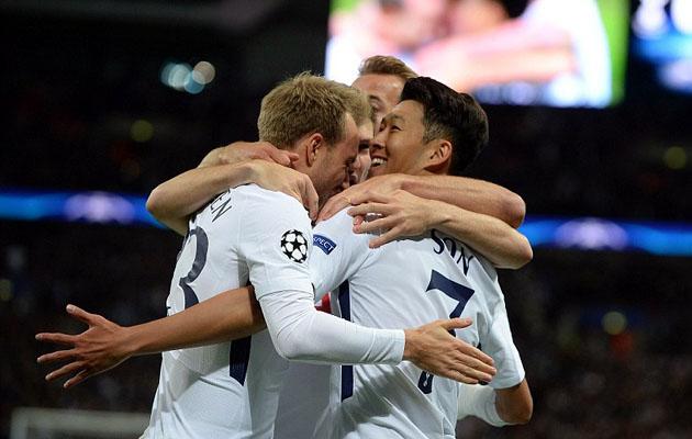 Сон, Эриксен и Кэйн в разных сочетаниях соорудили все три гола в ворота Боруссии