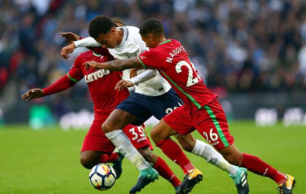 Тоттенхэм Хотспур - Суонси Сити 0:0 (5-й тур АПЛ 2017/18)