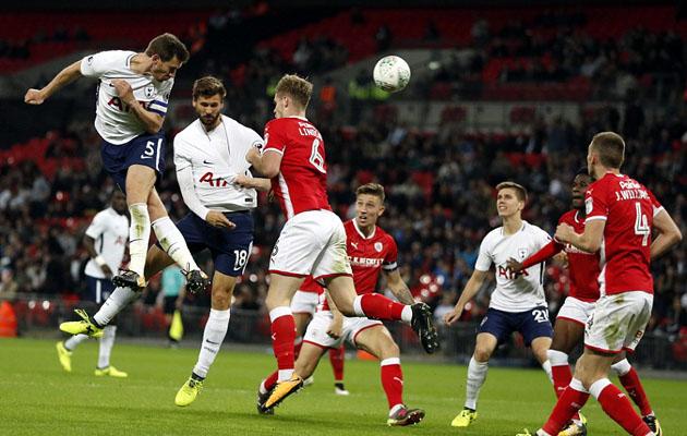 Тоттенхэм Хотспур - Барнсли 1:0 (Кубок Лиги 2017/18)