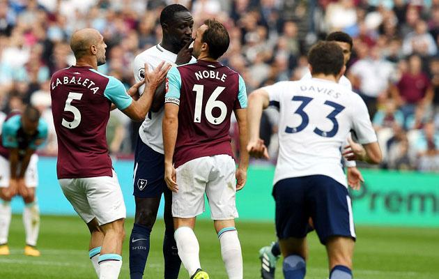 Вест Хэм Юнайтед - Тоттенхэм Хотспур 2:3 (6-й тур АПЛ 2017/18)