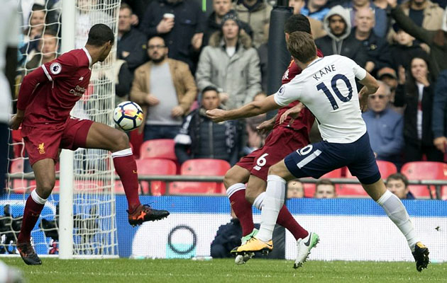 Харри Кэйн записал на свой счёт в матче с Ливерпулем 2 гола и голевой пас