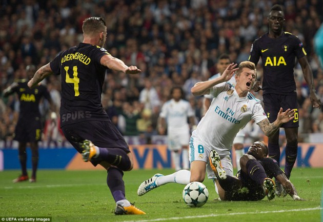 Реал Мадрид - Тоттенхэм Хотспур 1:1 (Лига Чемпионов 2017/18)