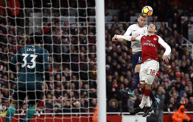 Арсенал - Тоттенхэм Хотспур 2:0 (12-й тур АПЛ 2017/18)