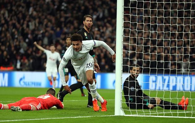 Деле Алли стал первым англичанином с 2009-го года, забившим Реалу два гола в одном матче