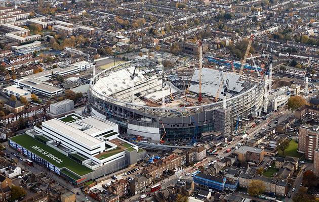 """Стройка нового стадиона """"Тоттенхэма"""" идёт по плану"""