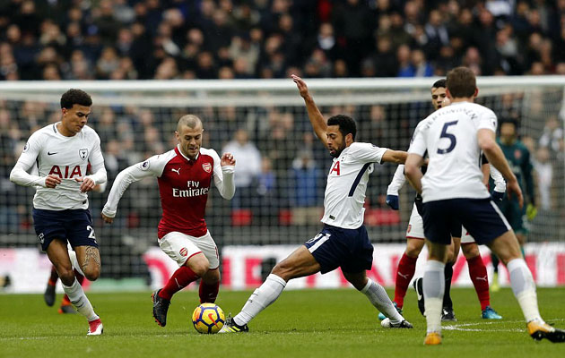 Тоттенхэм Хотспур - Арсенал 1:0 (27-й тур АПЛ 2017/18)