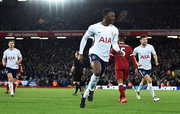 Виктор Ваньяма сравнял счёт в матче с Ливерпулем едва выйдя на замену