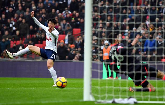 Сон Хын Мин забил уже 4-й гол за Шпоры на этой неделе