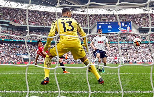 Манчестер Юнайтед - Тоттенхэм Хотспур 2:1 (Кубок Англии 2017/18)