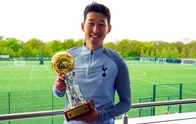 Сон Хын Мин - Лучший Футболист Азии 2017-го года