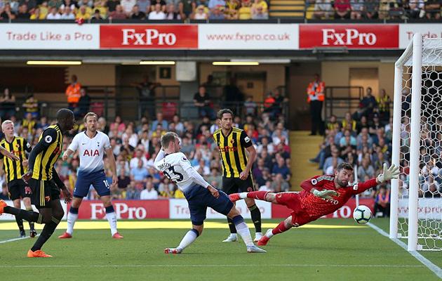 Уотфорд - Тоттенхэм Хотспур 2:1 (4-й тур АПЛ 2018/19)
