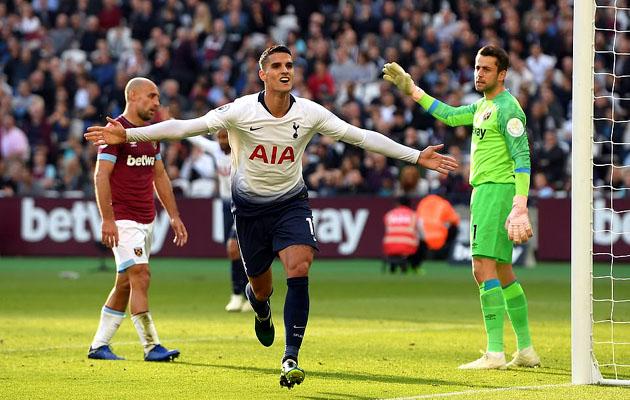 Эрик Ламела забил единственный гол в дерби с Вест Хэмом
