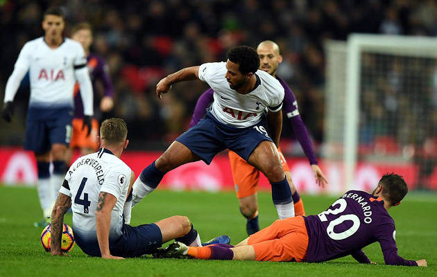 Тоттенхэм Хотспур - Манчестер Сити 0:1 (10-й тур АПЛ 2018/19)