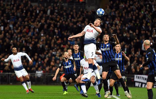 Ян Вертонген вовремя вернулся в строй- как раз к матчу с Интером