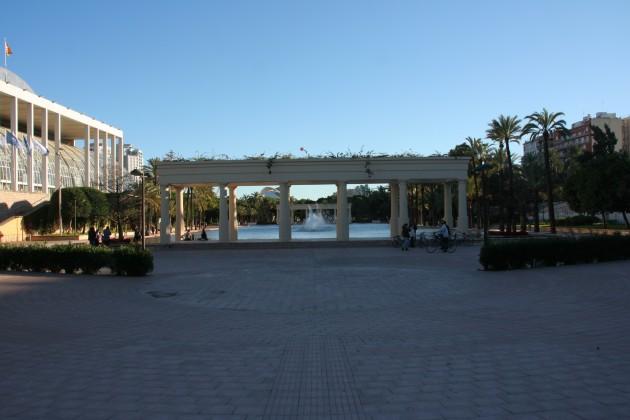 Парк в Валенсии