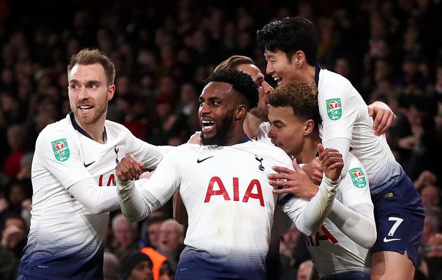 Арсенал - Тоттенхэм Хотспур 0:2 (Кубок Лиги 2018/19)