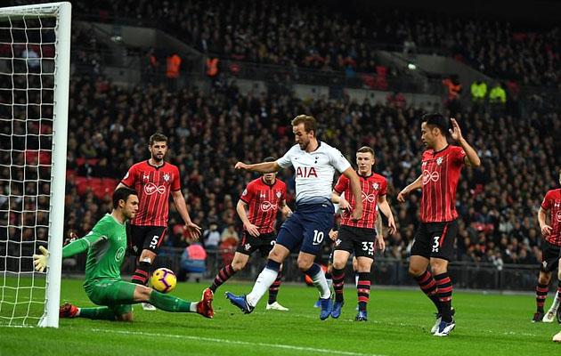 Харри Кэйн забил 7 голов в последних семи встречах с Саутгемптоном