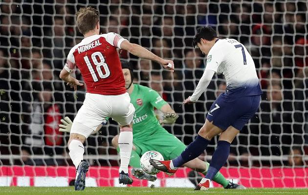 Сон Хын Мин открывает счёт в выездном матче с Арсеналом