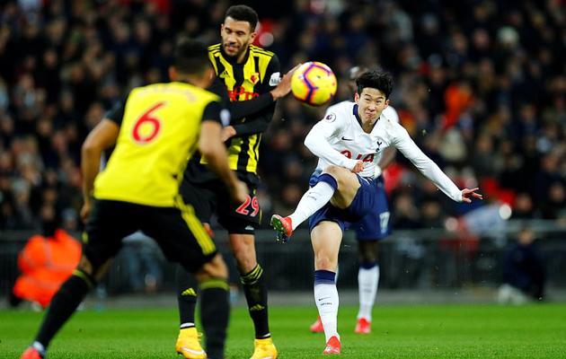 Хын Мин Сон отпраздновал возвращение в Клуб важным голом в ворота Уотфорда