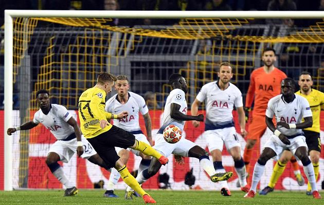 Боруссия Дортмунд - Тоттенхэм Хотспур 0:1 (Лига Чемпионов 2018/19)