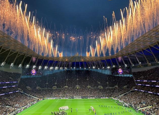 Открытие нового стадиона