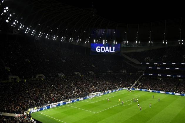Первый гол на новом стадионе