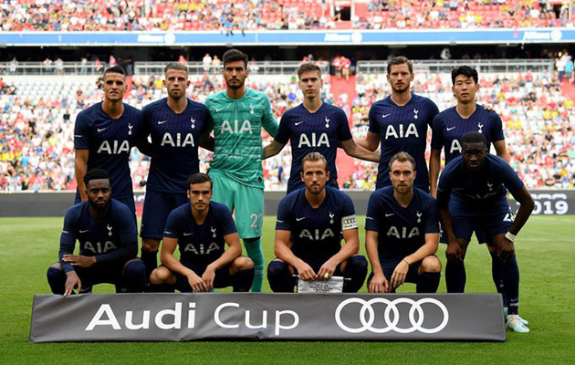 Реал Мадрид - Тоттенхэм Хотспур 0:1 (Audi Cup 2019)
