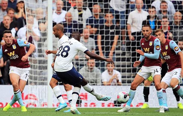 Танги Ндомбеле забил очень важный гол в своём дебютном матче за Шпоры