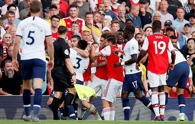 Арсенал - Тоттенхэм Хотспур 2:2 (4-й тур АПЛ 2019/20)