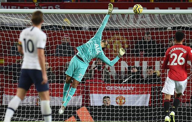 Манчестер Юнайтед - Тоттенхэм Хотспур 2:1 (15-й тур АПЛ 19/20)