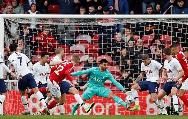Миддлсборо - Тоттенхэм Хотспур 1:1 (Кубок Англии 2019/20)