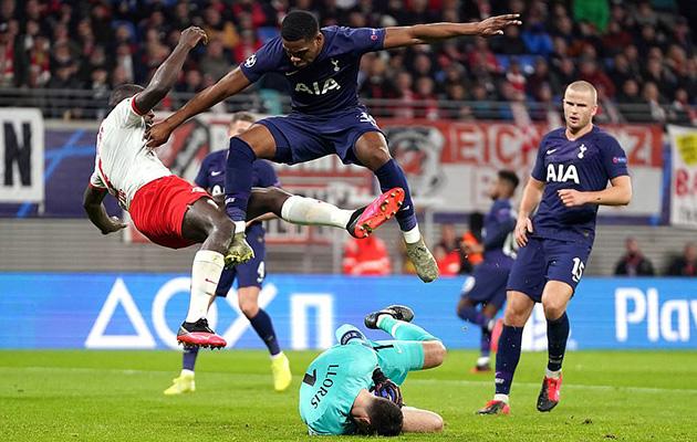 РБ Лейпциг — Тоттенхэм Хотспур 3:0 (Лига Чемпионов 2019/20)
