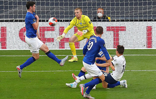 Тоттенхэм Хотспур - Эвертон 1:0 (33-й тур АПЛ 2019/20)