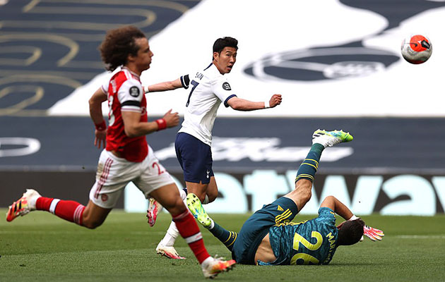 Тоттенхэм Хотспур - Арсенал 2:1 (35-й тур АПЛ 2019/20)