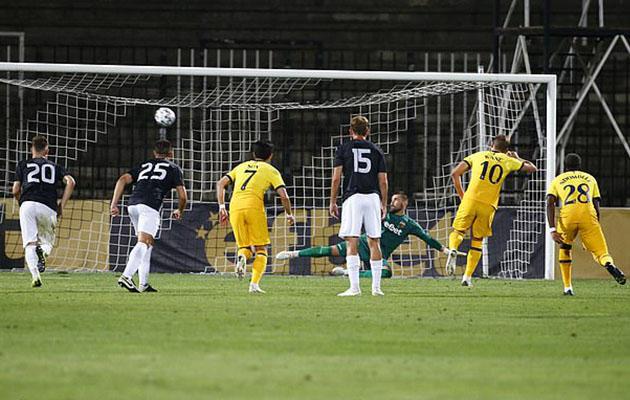 Локомотив Пловдив — Тоттенхэм Хотспур 1:2 (Лига Европы 2020/21)